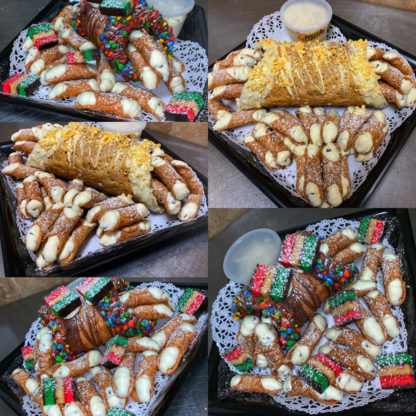 Giant Party Cannoli