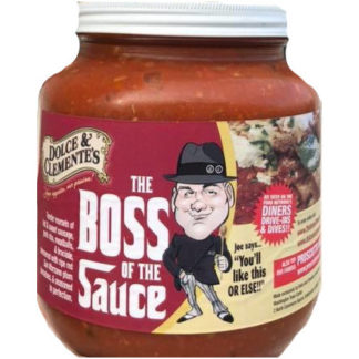 Our Famous Boss of the Sauce